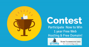 Contests: Your chance to win Free Web Hosting for 1 year